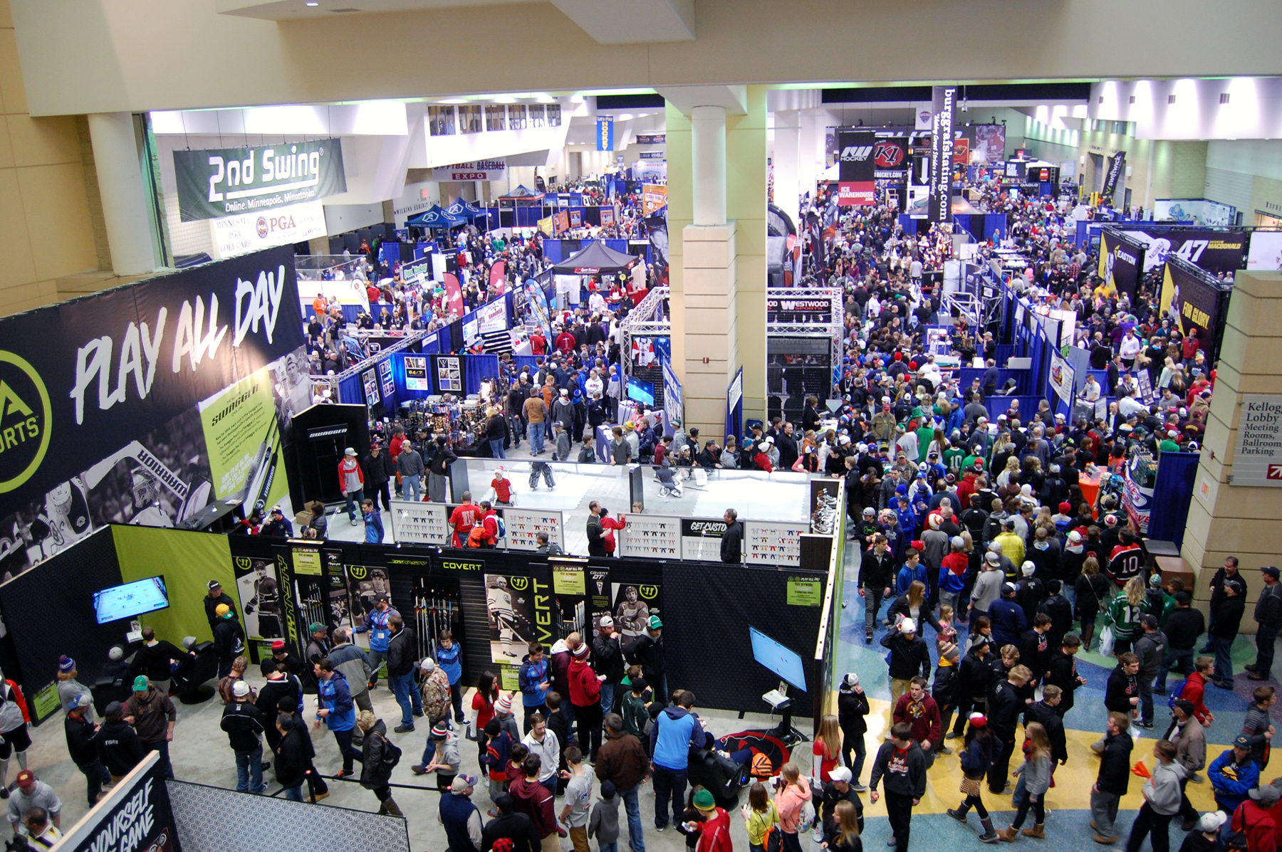 LET'S PLAY HOCKEY EXPO INCLUDES MANY EXCITING EVENTS IN 2015