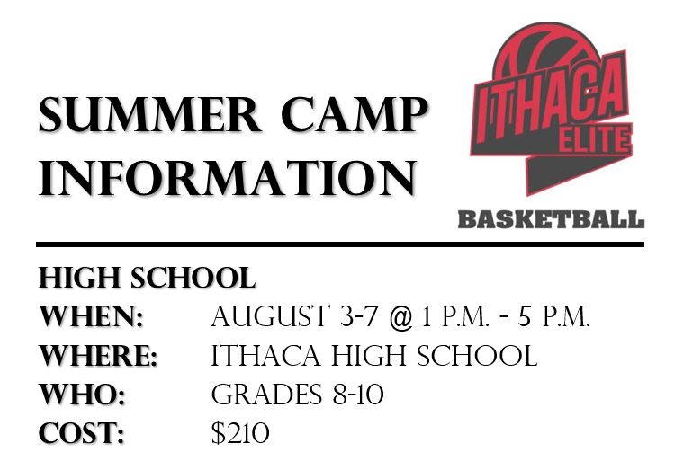 2015 Ithaca Elite Summer Basketball Camp (Ithaca, NY)