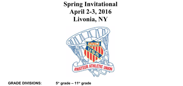 GV Pride: Girls' and Boys' Basketball Spring Invitational (April 2-3, 2016)