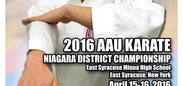 2016 AAU Karate Niagara District Championship