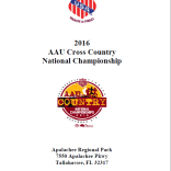 2016 AAU Cross Country National Championship
