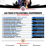 2017 AAU Track & Field National Championships